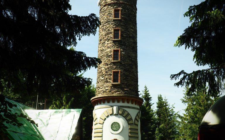 Wieża widokowa na Zlatym Chlumie