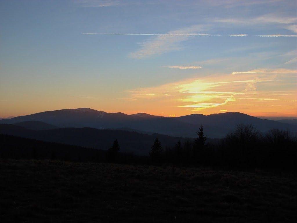 Zachód Słońca na Jałowcu