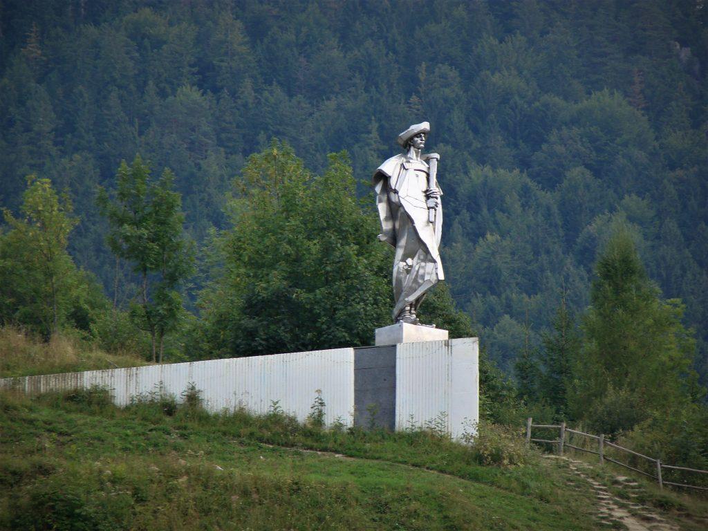 Pomnik Janosika w Terchovej