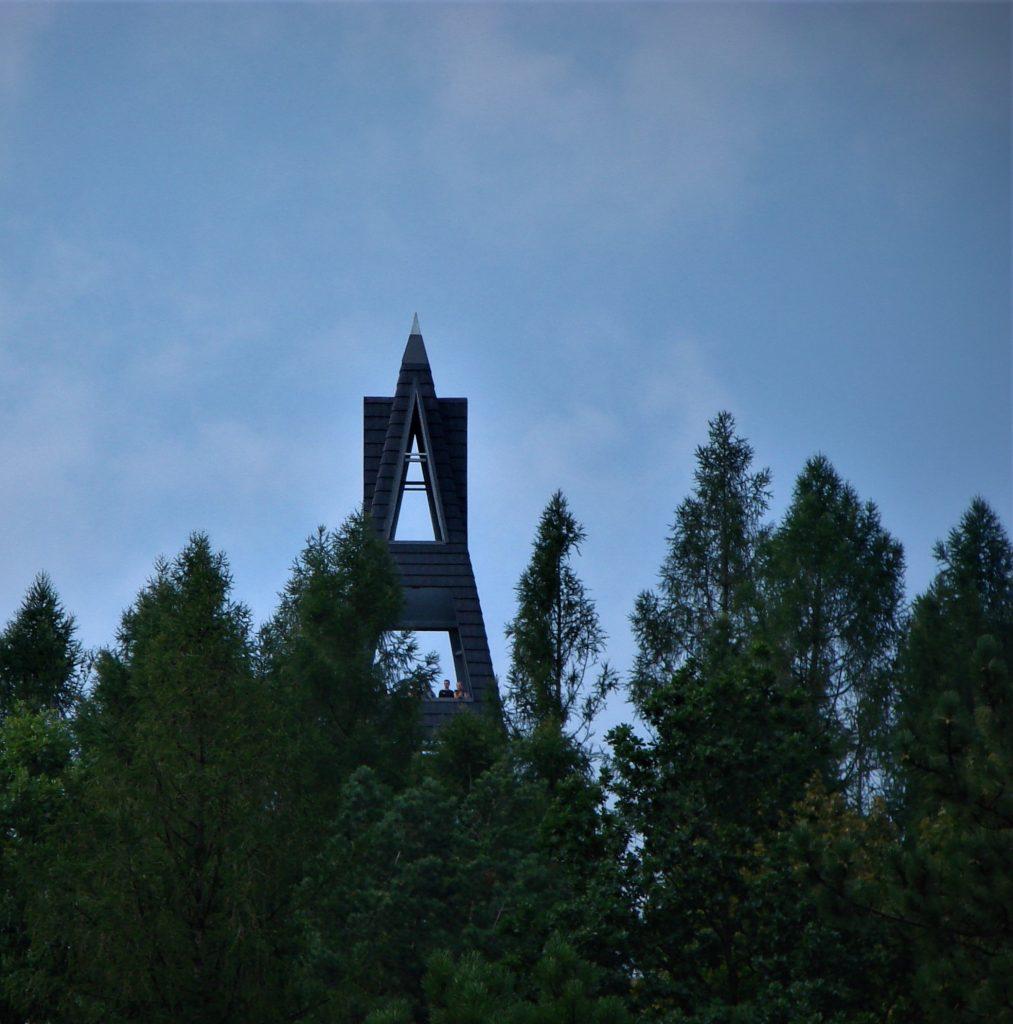Wieża widokowa na Oblazie