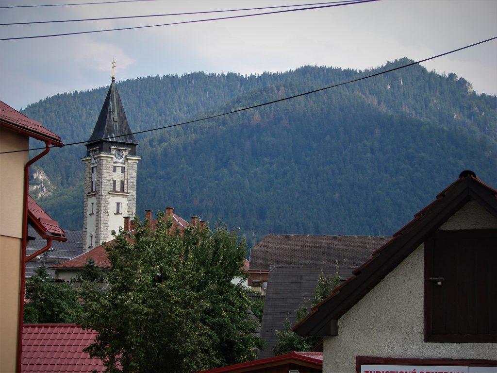 Wieża kościoła w Terchovej