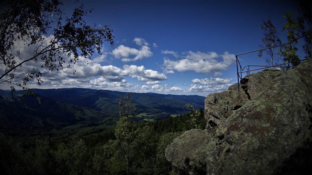 Panorama na Rychlebskie Hory