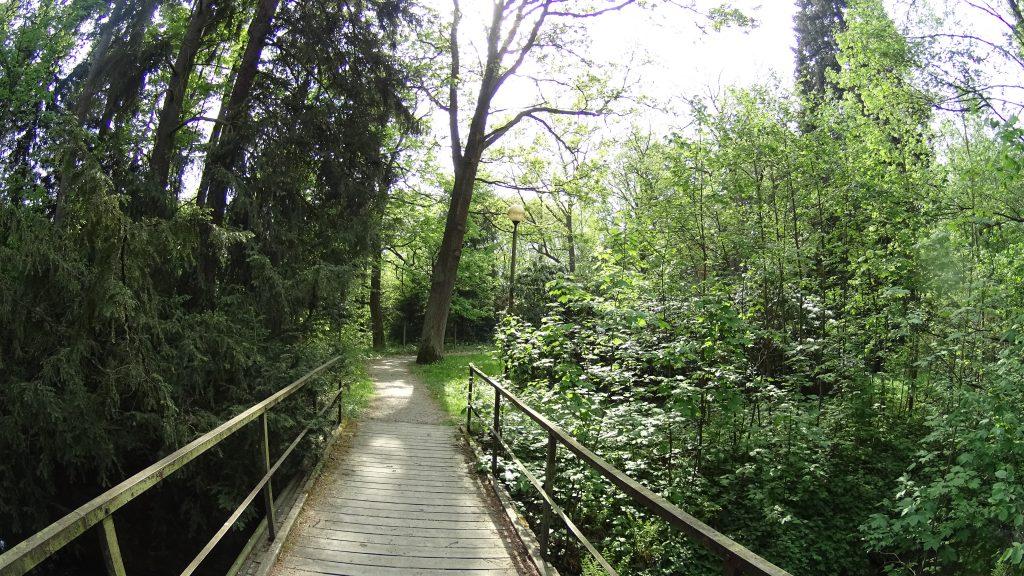 Park Zdrojowy w Velkich Losinach
