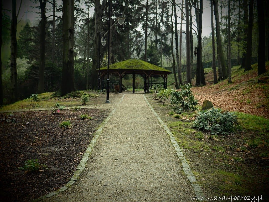 Altana w Parku Zdrojowym w Głuchołazach