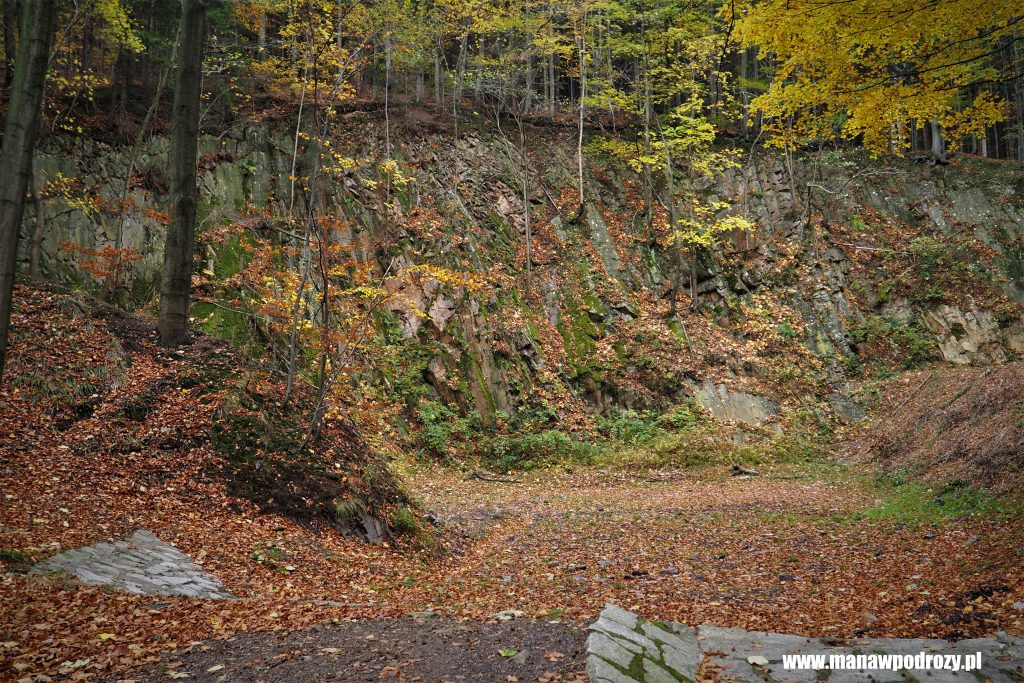 Pozostałości po eksploatacji górniczej
