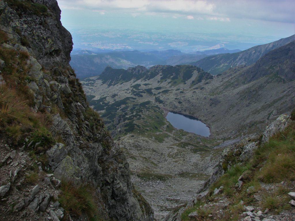 Dolina Gąsienicowa z Przełęczy Świnickiej