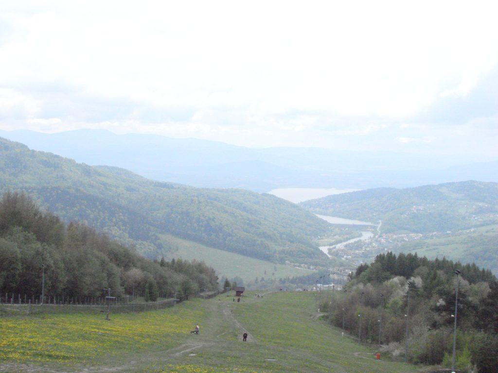 Z widokiem na Jezioro Żywieckie