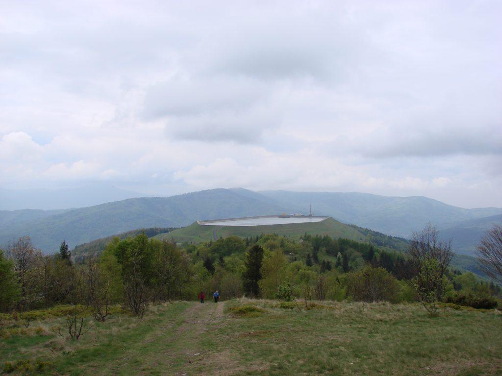 Zbiornik elektrowni wodnej na Górze Żar