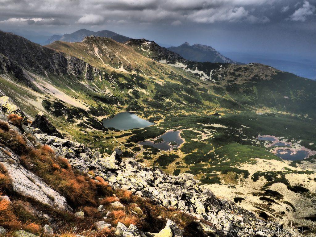 Zielona Dolina Gąsienicowa, w tle Kasprowy Wierch, Małołączniak, Kopa Kondracka i Giewont