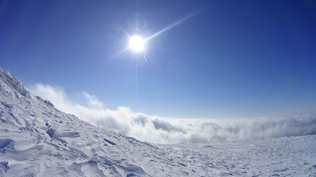 Piękne widoki na szczycie