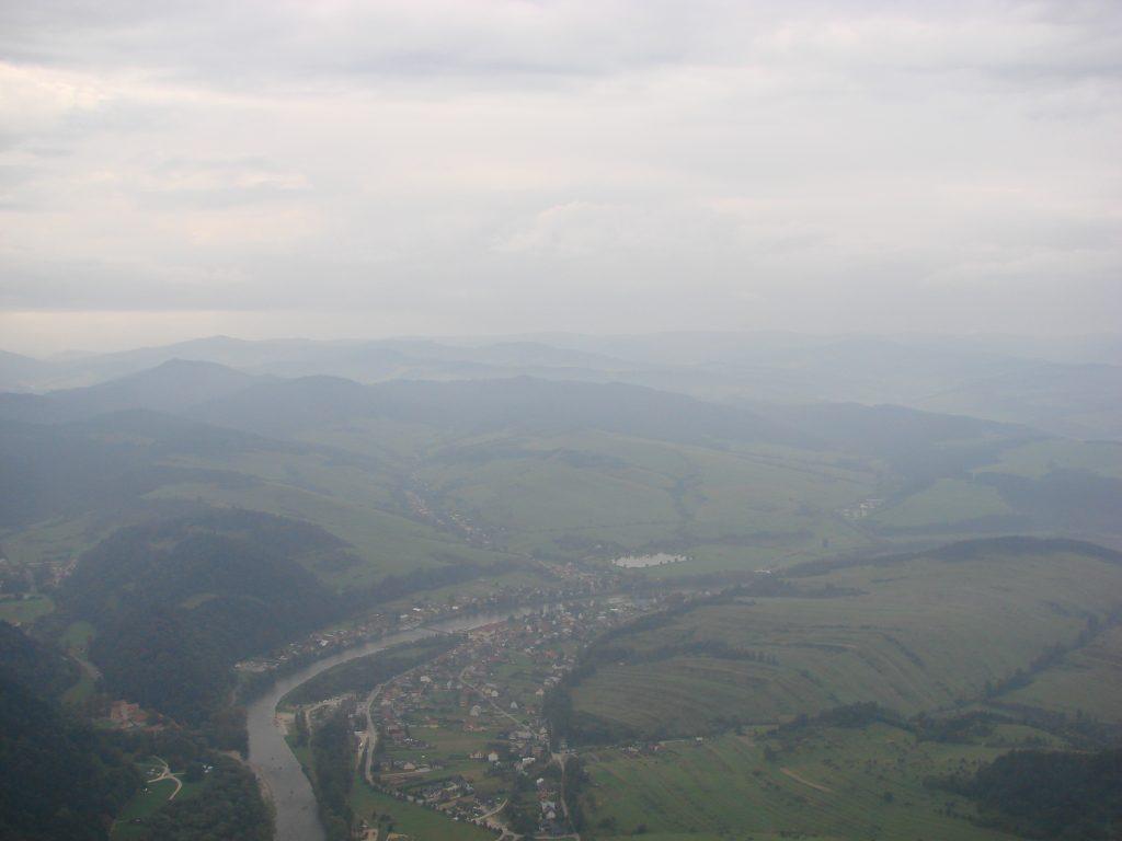 Dunajec- widok z Trzech Koron