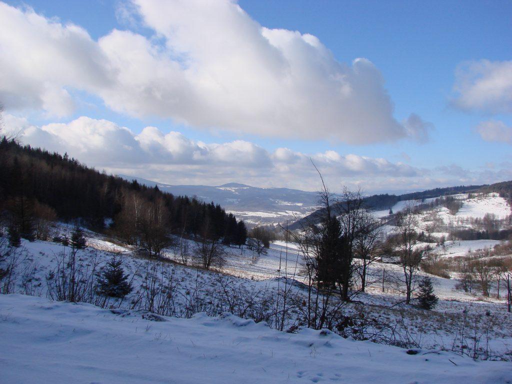 Widok z Przełęczy Lądeckiej
