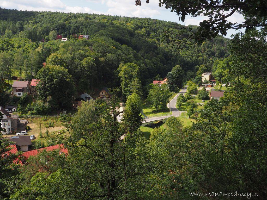 Dolina Złotego Potoku-widok z Karolinek