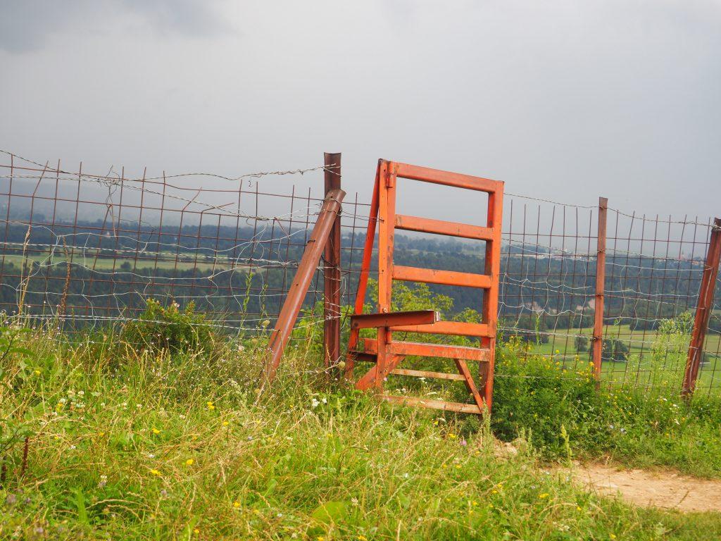 Wędrówka przez pastwiska