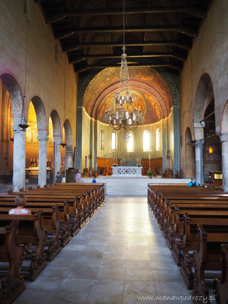 Wnętrze Katedry San Giusto