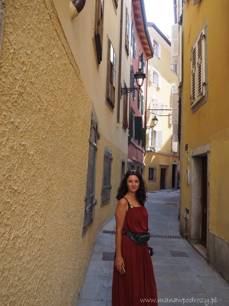 Wąskie, typowo włoskie uliczki