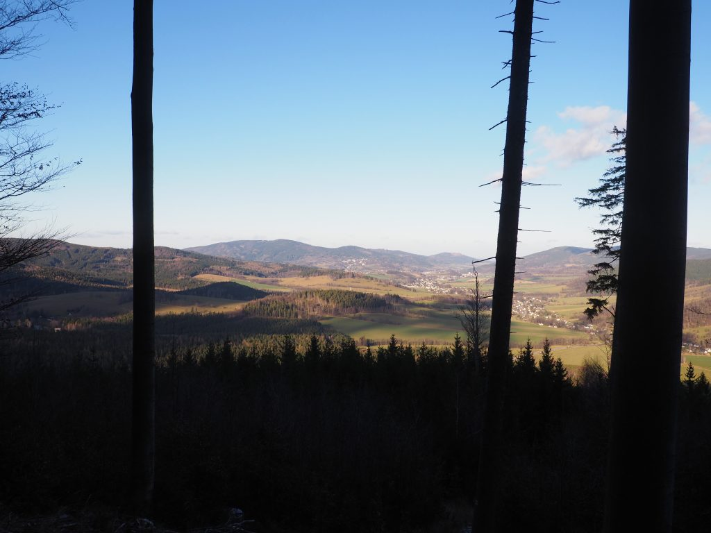 Widok na Dolinę Białej Głuchołaskiej