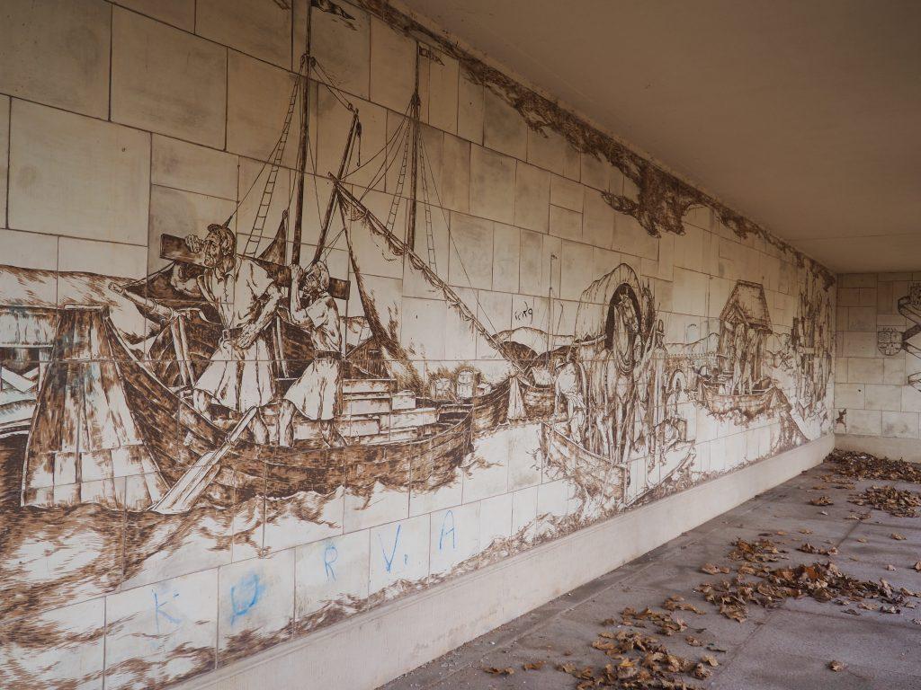 Mural pod Mostem Augusta