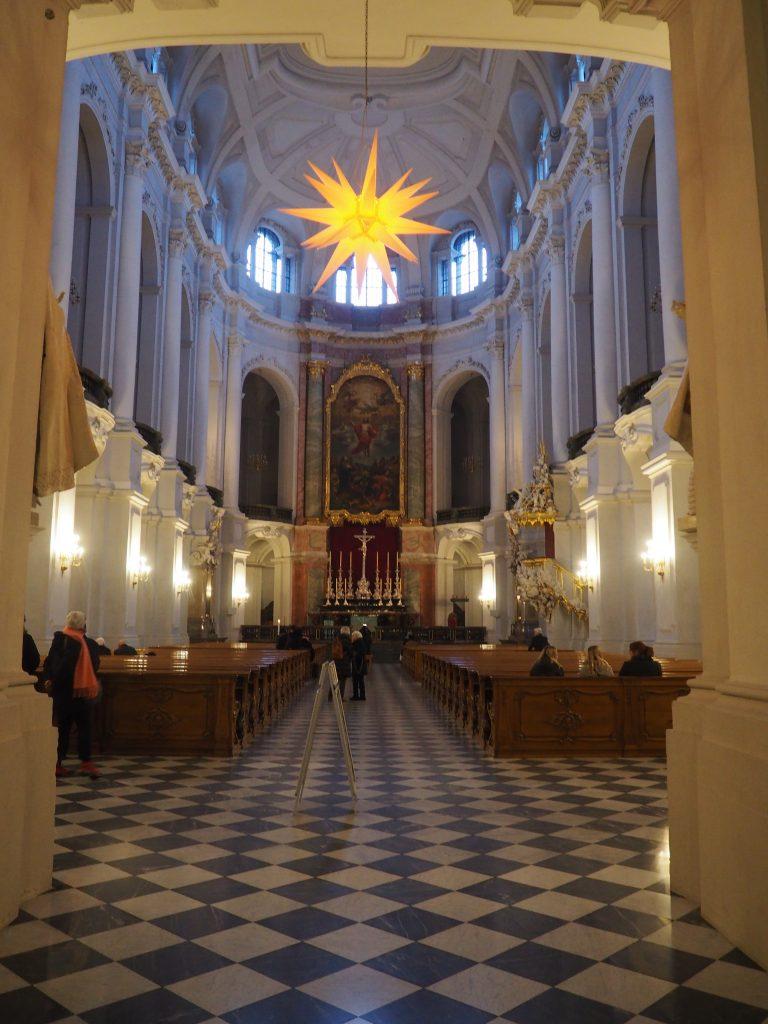 Wnętrze Katedry św. Trójcy