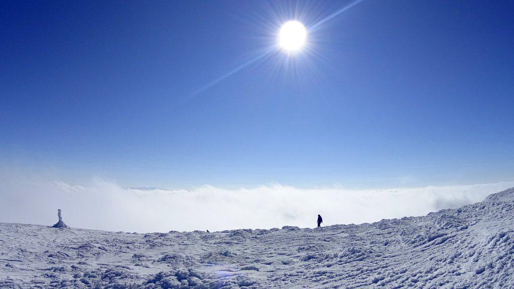 Tatry widziane z Babiej Góry