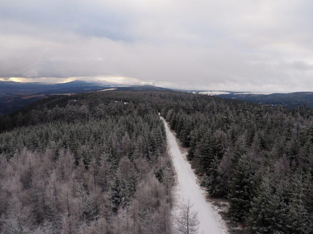 Widok w stronę Czarnej Góry