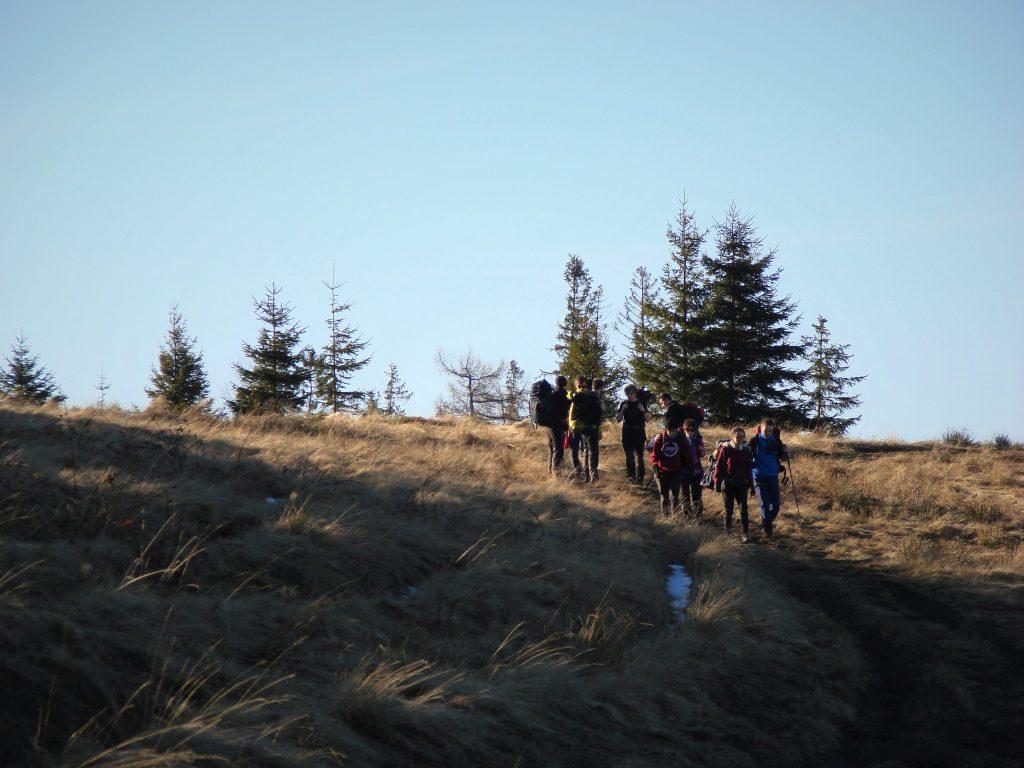 """""""Trampki w górach"""" - studencka ekipa"""