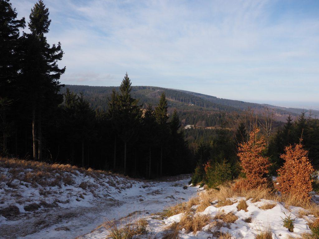 Zejsćiowe widoki na Kozią Równię i Wielką Sowę