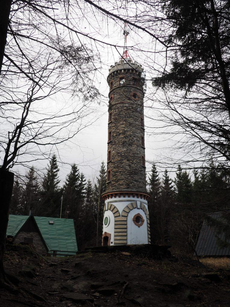 Zlaty Chlum- wieża widokowa