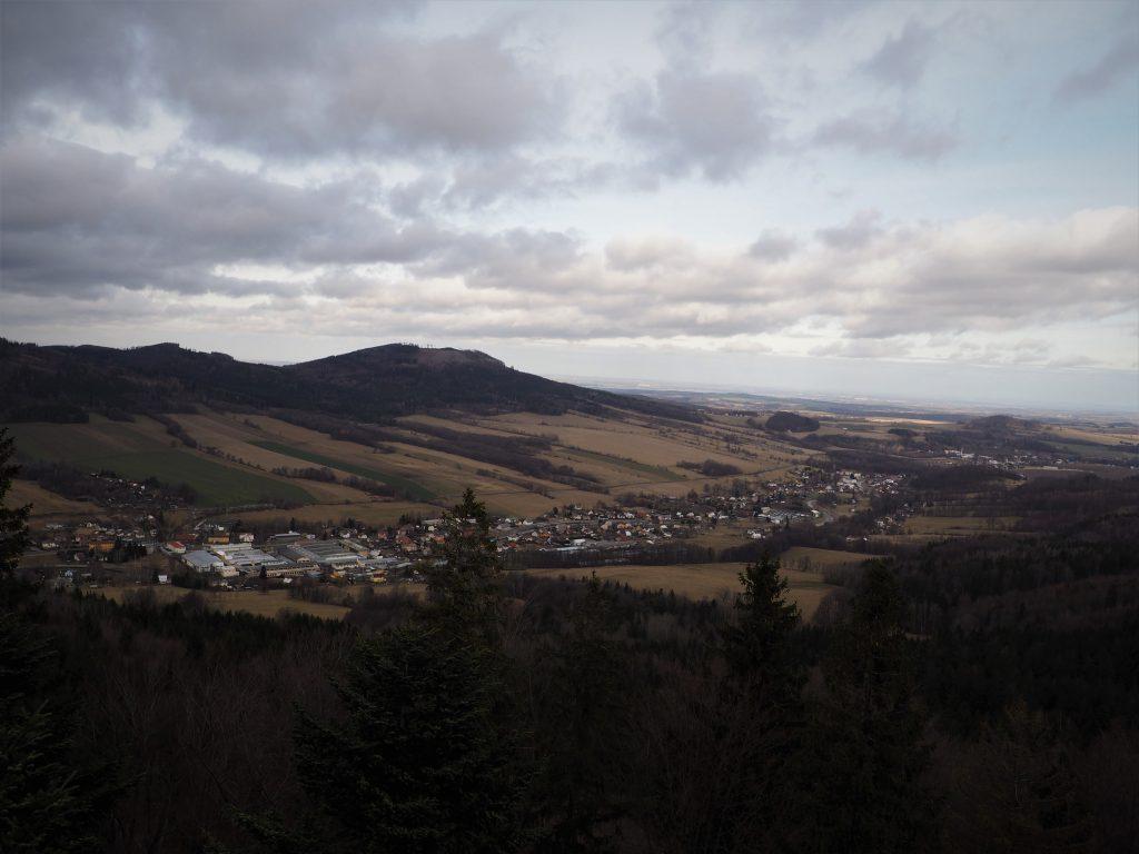 Panorama na Dolinę Białej Głuchołaskiej