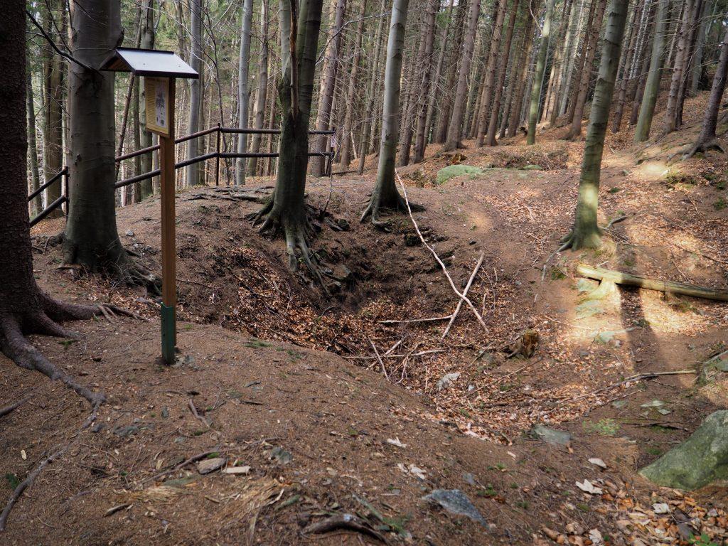 Pozostałości po kopalni Fuggerów
