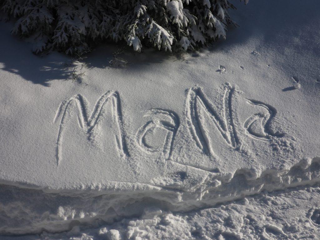 Zimowe zabawy w śniegu