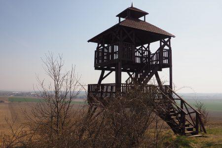 Wieżą widokowa na Kawiej Górze