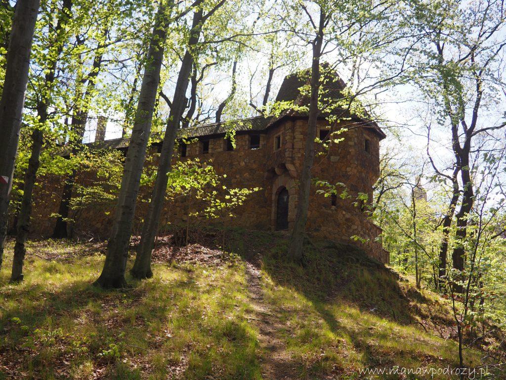 Zabudowania zamku Książ