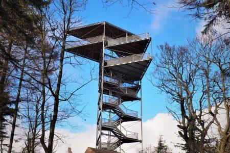 Wieża widokowa na Trójgarbie