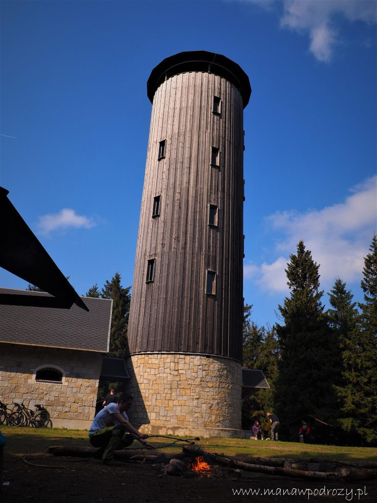 Wieża widokowa na Borówkowej