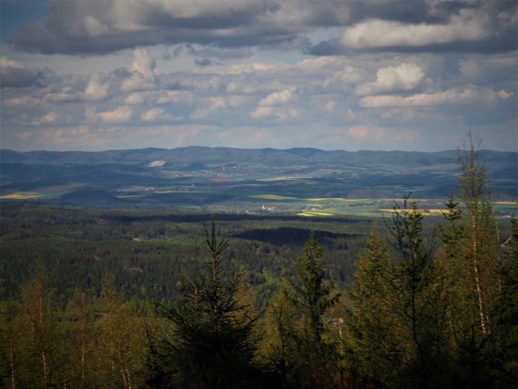 Widok na Góry Sowie