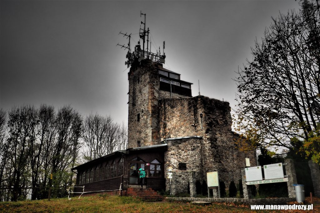 Wieża widokowa na Chełmcu