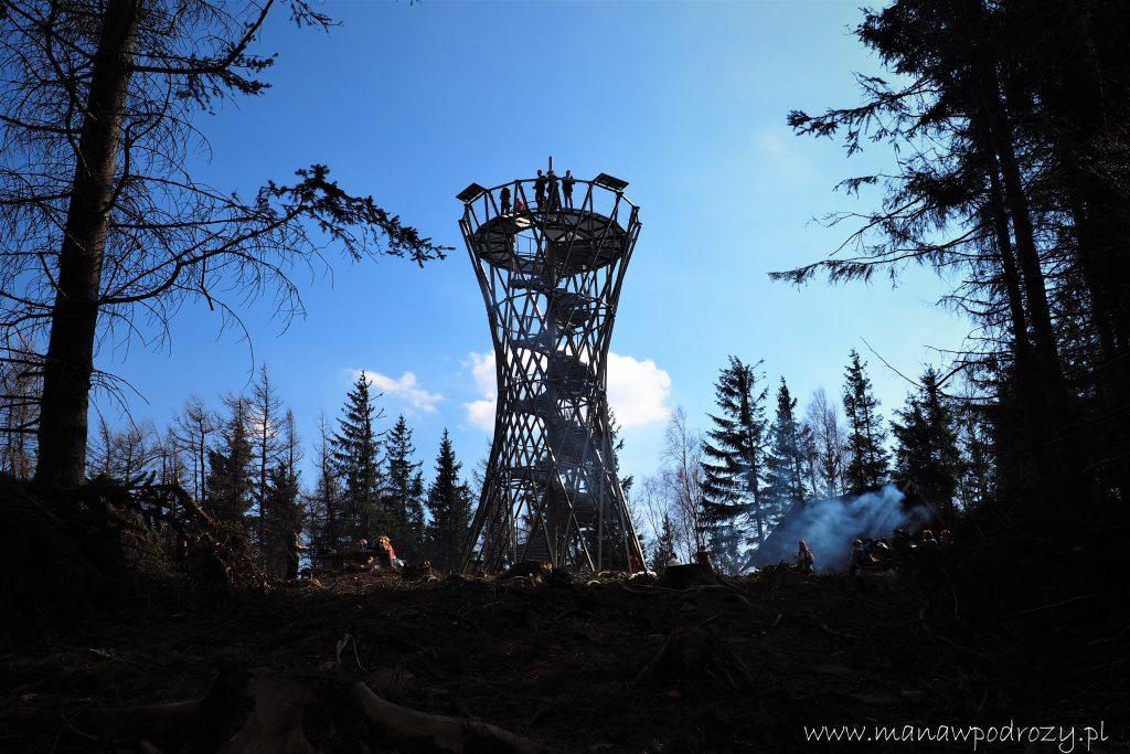 Wieża widokowa na Borowej