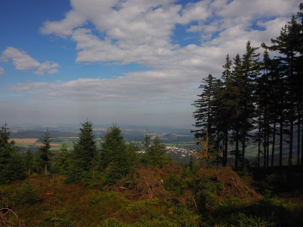 Olovana Stola i widok na Zlate Hory