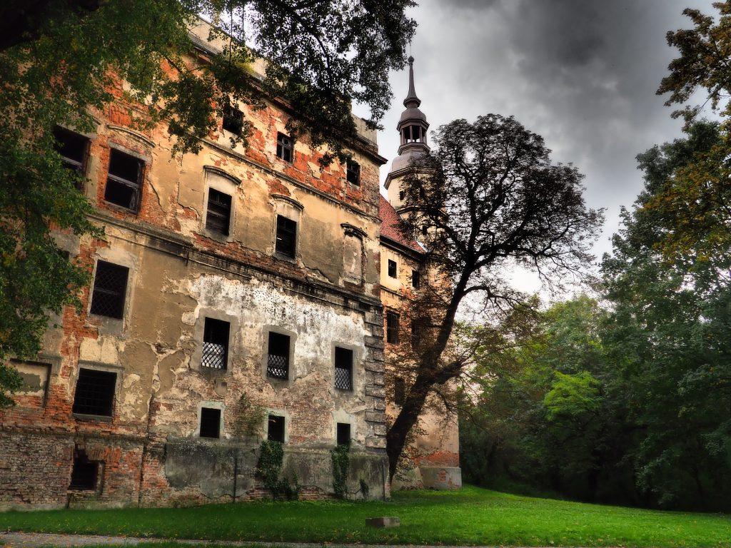 Zamek w Głogówku niestety popadł w ruinę