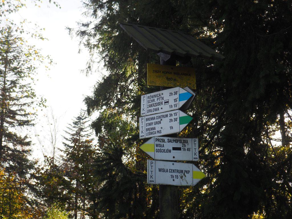 Trzy Kopce Wiślańskie- szczyt
