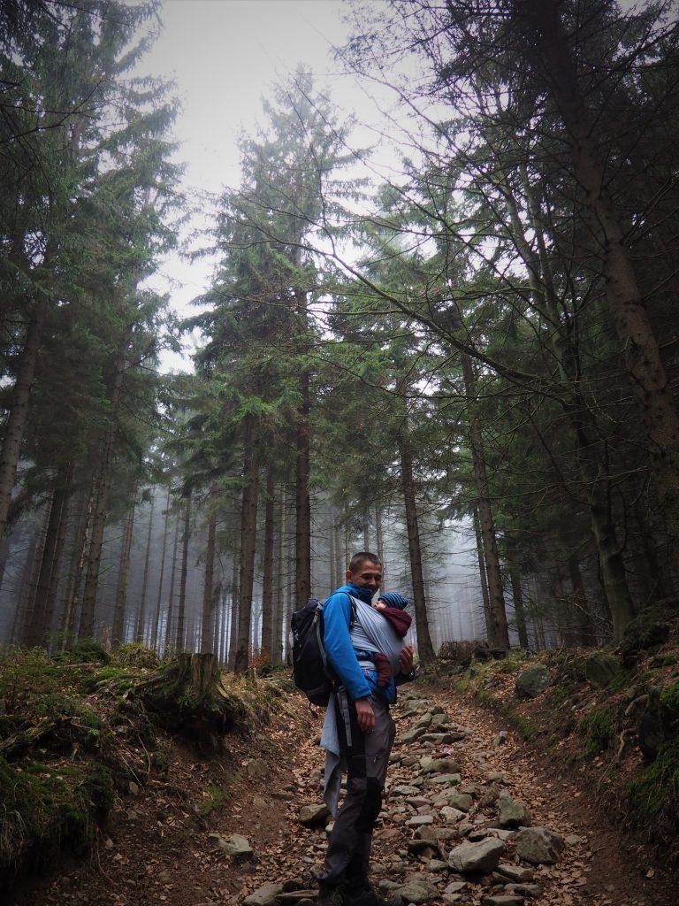 Strome podejście pod szczyt Wielkiej Sowy