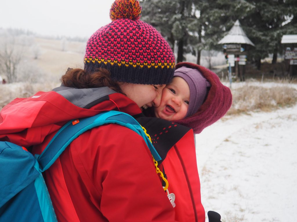 Chustowanie to wielkie radość dla dziecka i rodzica:)