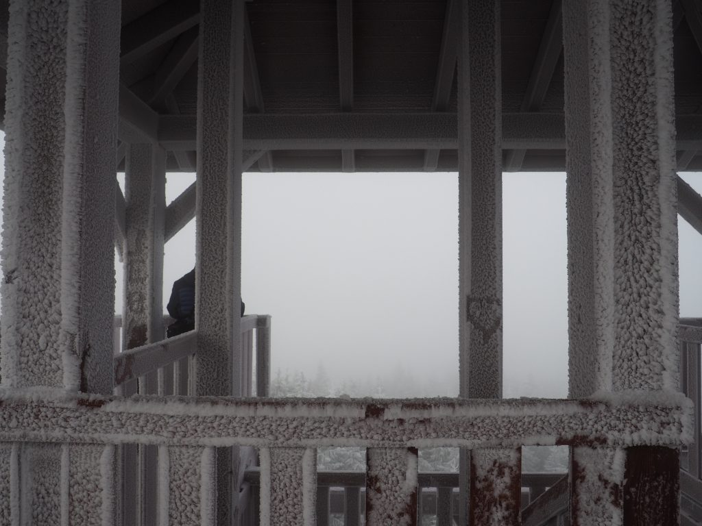Wieżą widokowa na Orlicy