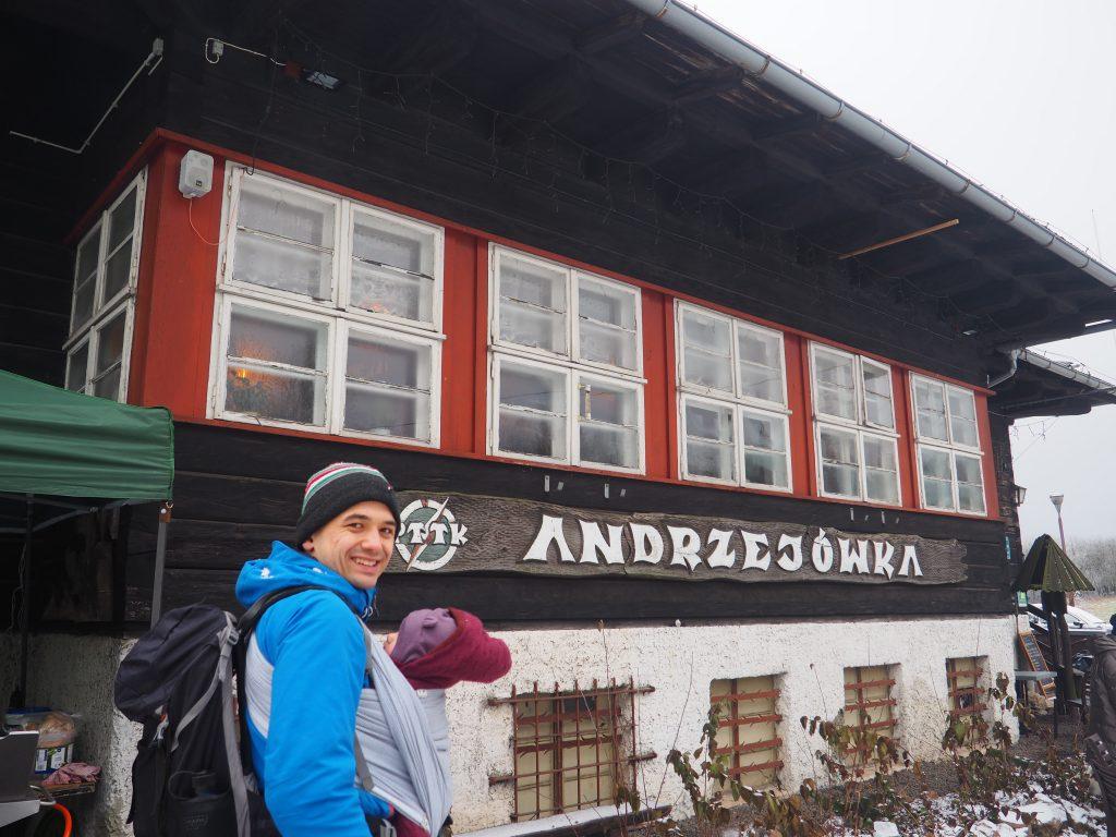 Przy schronisku Andrzejówka