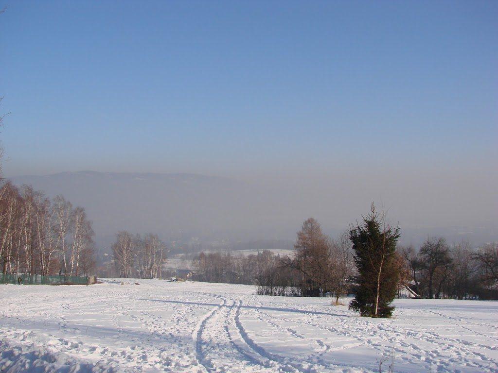 Bystra- okolice ogarnia smogowe powietrze