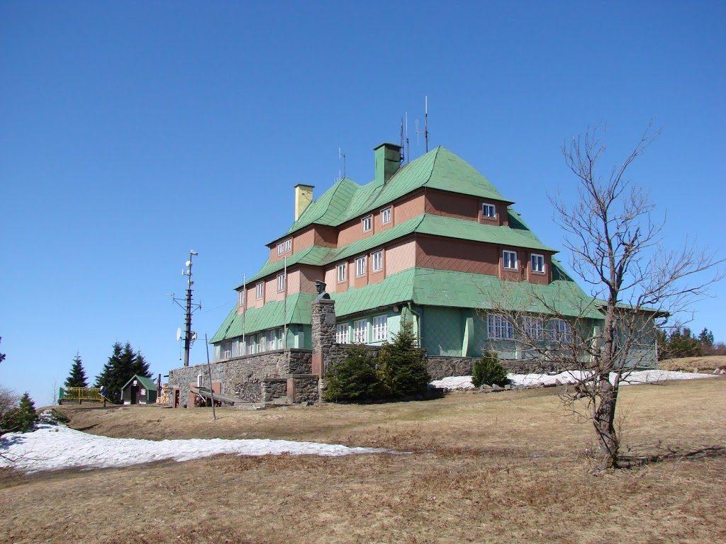 Masarykova Chata. Schronisko w Górach Orlickich