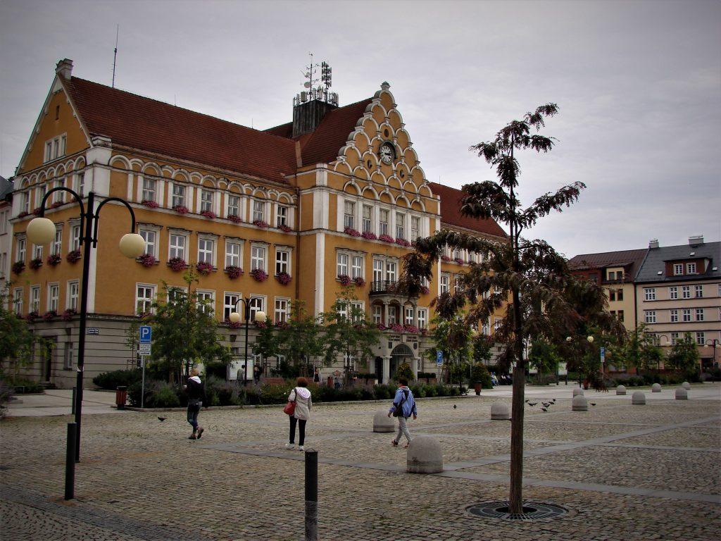 Rynek w czeskim Cieszynie