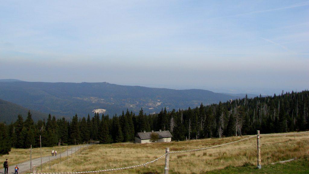 Widok z Hali Szrenickiej