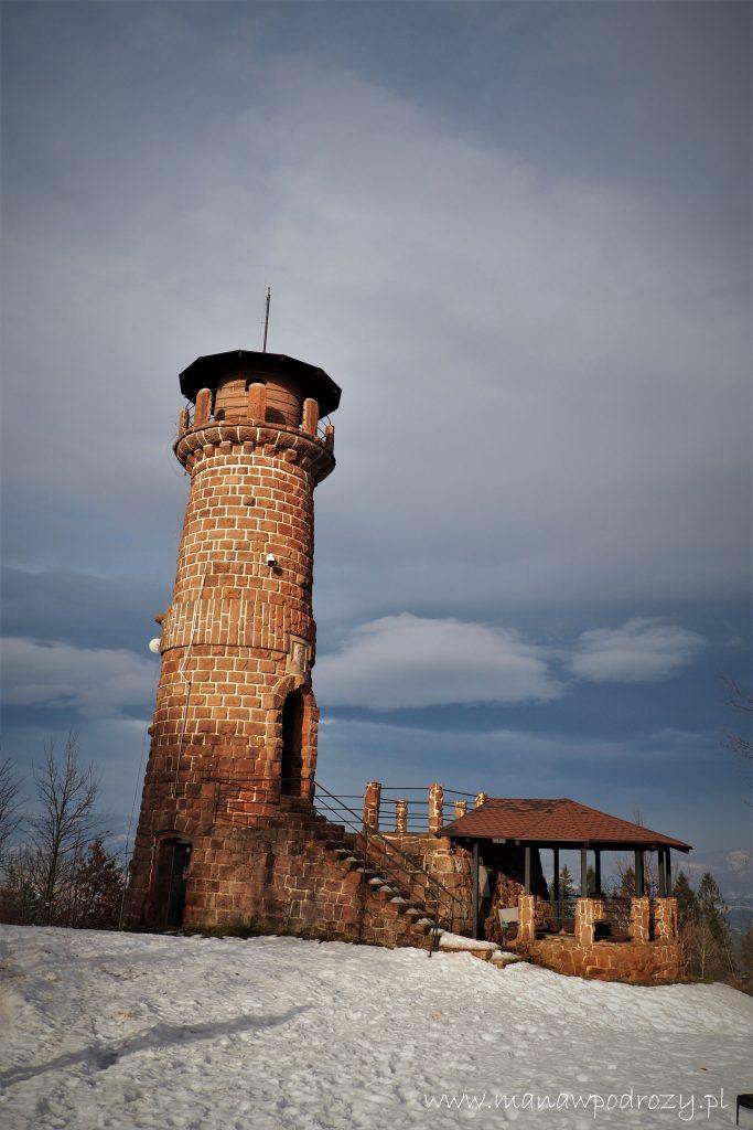 Wieża widokowa na Górze Wszystkich Świętych